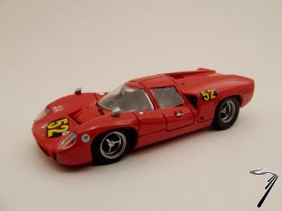 Lola T70 N°52 Buenos aires  1/43