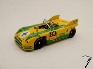 Porsche 908/3 Championnat d'Europe de Montagne  1/43