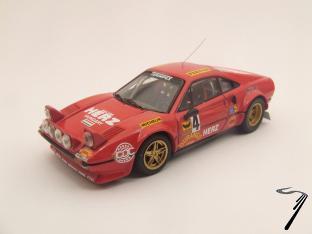 Ferrari 308 GTB N°4 Monza  1/43