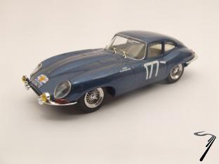 Jaguar E Coupe N°177 Tour de France  1/43