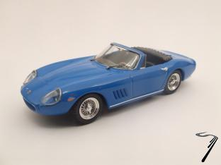 Ferrari 275 GTB4 Spider Bleu By Steve Mc Queen GTB4 Spider Bleu By Steve Mc Queen 1/43