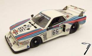 Lancia Beta Montecarlo N°65 8ième 24H Le Mans  1/43