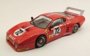 Ferrari 512 BB #72 9th  24h Le Mans  1/43