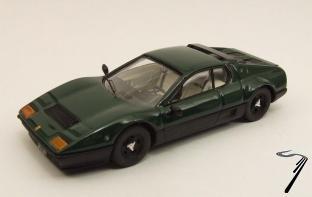 Ferrari . BB verte/noire 1/43