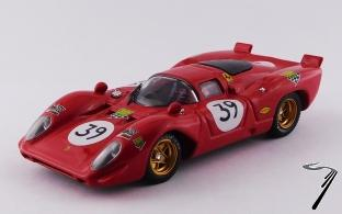 Ferrari 312 P - #39  24H du Mans   1/43