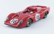 Ferrari 312 P Spyder test #18 test 24H du Mans   1/43