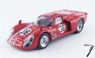 Alfa Romeo 33.2C #38 test 24H du Mans   1/43
