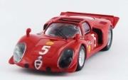 Alfa Romeo 33.2 Spyder 1st Montlhéry  1/43