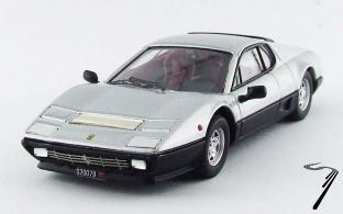 Ferrari 512 BB gris métallisé/noir métallisé BB gris métallisé/noir métallisé 1/43