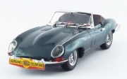 Jaguar . cabriolet vert métalisé Adriano Celentano 1/43