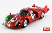 Alfa Romeo 33.2 LM - 1000 KM Monza #26  1/43
