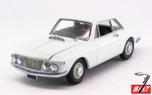 Lancia . coupé 1.2 blanc Saratoga 1/43