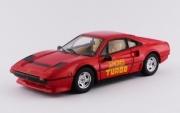 Ferrari . GTB Turbo rouge 1/43