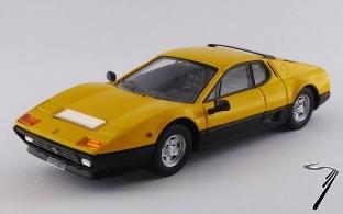 Ferrari 512 BB jaune/noir BB jaune/noir 1/43