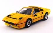 Ferrari 208 GTS Turbo cabriolet jaune GTS Turbo cabriolet jaune 1/43