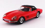 Ferrari . GTB/4 NART Cabriolet rouge 1/43
