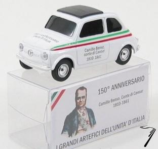 Fiat . Camillo Benso - 1er président du conseil 1/43