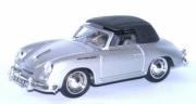 Porsche 356 Cabriolet argent argent 1/43