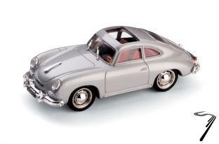Porsche 356 Aperta argent Aperta argent 1/43