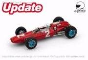 Ferrari 158 F1 1st Italia GP - with pilot  1/43
