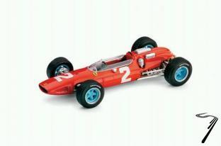 Ferrari 158 1er GP Italie Champion du Monde  1/43