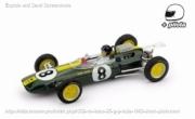 Lotus 25 1st Italia GP - with pilot  1/43