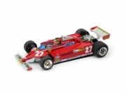 Ferrari 126 CK Turbo 1st Monaco GP with pilot  1/43