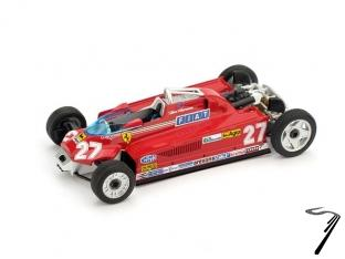 Ferrari 126CK GP Monaco #27 (version avec pneus de transport)  1/43