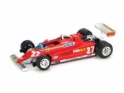 Ferrari 126CK Turbo 1er GP Monaco  1/43