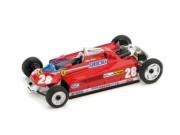 Ferrari 126CK GP Monaco #28 (version with transport wheels)  1/43