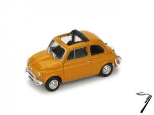 Fiat . L toit ouvrant couleurs variables 1/43