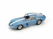 Ferrari 250 GTO bleue métallisé bande blanche GTO bleue métallisé bande blanche 1/43