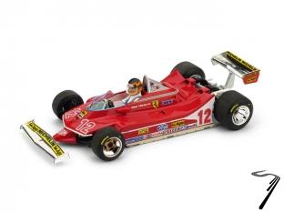Ferrari 312 T4 GP France + pilote  1/43