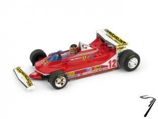 Ferrari 312 T4 1er GP USA ouest version test - avec pilote  1/43