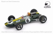 Lotus 33 4th Great Britain GP - with pilot  1/43