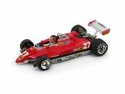 Ferrari 126C2 turbo GP Brésil - avec pilote  1/43