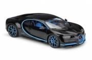 Bugatti Chiron noir édition 0-400 km/h noir édition 0-400 km/h 1/18
