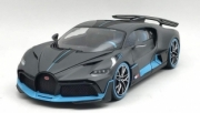 Bugatti Divo Noire / bleu 1/18