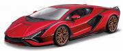 Lamborghini Sian Hybride Rouge Hybride - Rouge 1/18