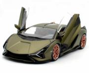 Lamborghini Sian verte  verte 1/18