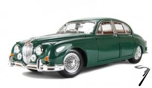 Jaguar MK II Couleurs Variables.  Couleurs variables 1/18