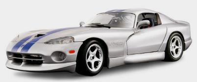 Dodge Viper GTS Couleurs Variables 1 18 Burago