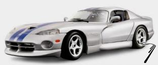 Dodge Viper GTS Couleurs Variables GTS Couleurs Variables 1/18