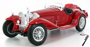 Alfa Romeo . Spider Touring rouge 1/18