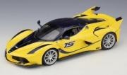 Ferrari FXX K yellow K yellow 1/18