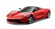 Ferrari LaFerrari rouge avec toit noir (version premium) rouge (version premium) 1/18