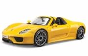 Porsche 918 spyder jaune spyder jaune 1/24