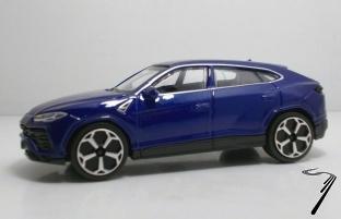 Lamborghini Urus bleu jaune 1/43