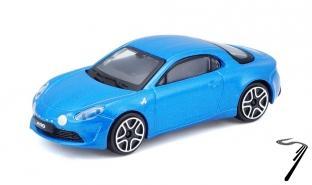 Alpine A110 bleu bleu 1/43