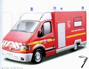 Renault . Pompier 1/50